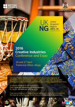 Creative Industries Conference and Expo Flier